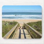 Walkway to the Beach Mousepads
