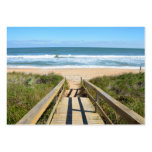 Walkway to the Beach Pack Of Chubby Business Cards