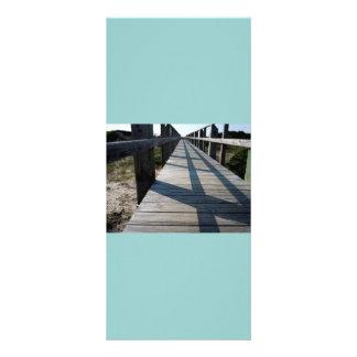 Walkway to the Beach Rack Card Design
