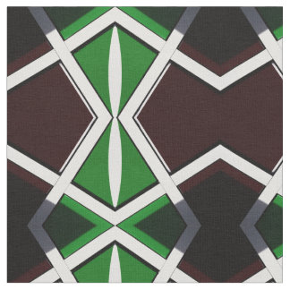 Wall African Pattern Symmetry Fabric