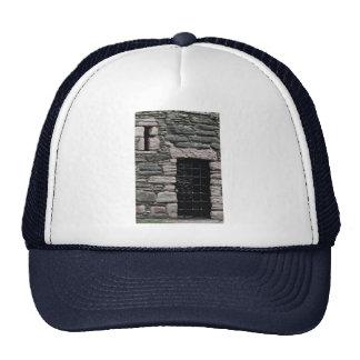 Wall and door of Lochranza Castle, Isla of Arran, Mesh Hats