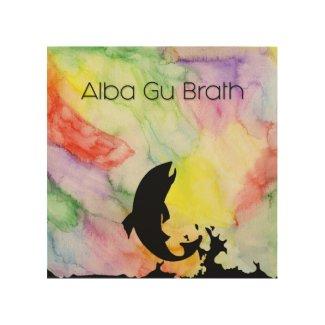 "WALL ART ""ALBA GU BRATH #2"