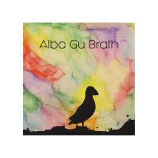 "WALL ART ""ALBA GU BRATH #3"