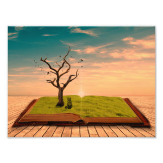 Wall Art - Story Book Photographic Print