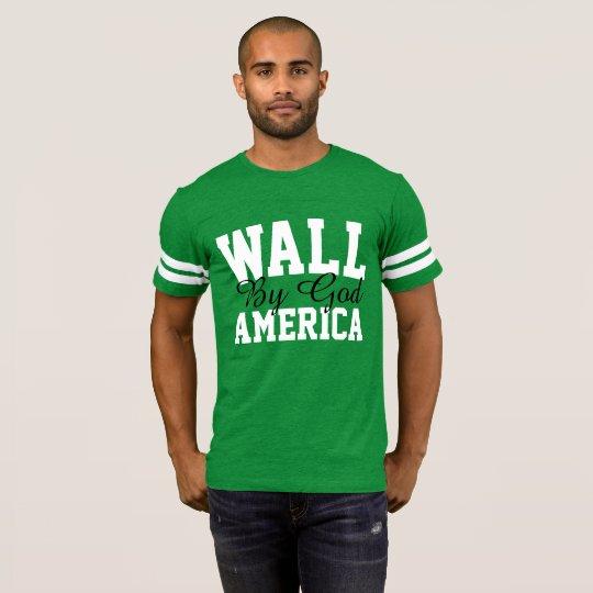 Wall By God America Men's T-Shirt