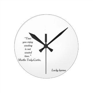 wall clock acrilic by lucky karma