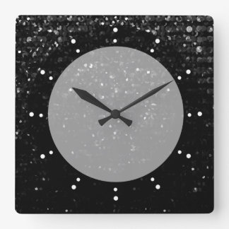 Wall Clock Crystal Bling Strass