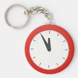 Wall Clock Key Ring