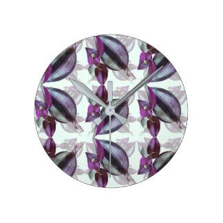 Wall Clock (Medium)- Flower Power