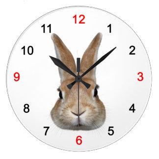 Wall clock of rabbit, No.02