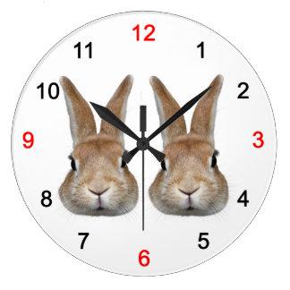 Wall clock of rabbit, No.03
