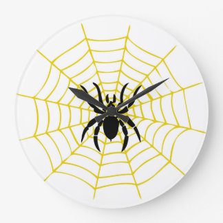 Wall Clock spider
