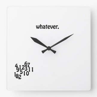 Wall Clock whatever.
