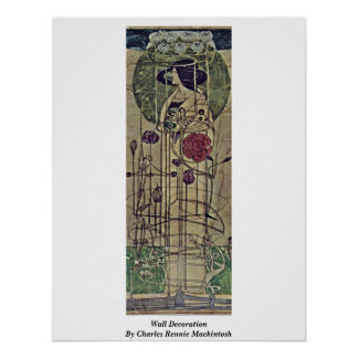 Wall Decoration By Charles Rennie Mackintosh