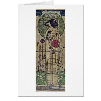 Wall Decoration By Charles Rennie Mackintosh Card
