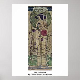 Wall Decoration By Charles Rennie Mackintosh Poster