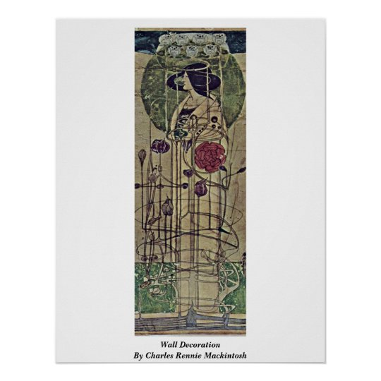 Wall Decoration By Charles Rennie Mackintosh Poster