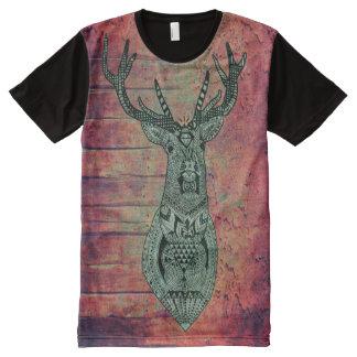wall deer All-Over print T-Shirt