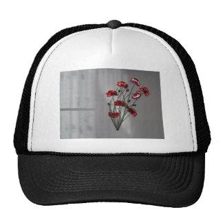 Wall flower cap