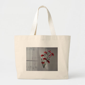 Wall flower large tote bag