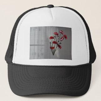Wall flower trucker hat