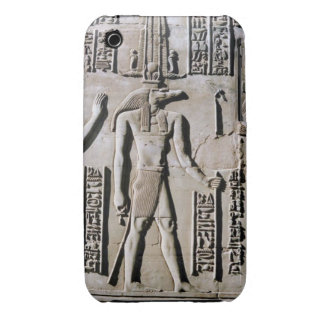 Wall Frieze Ancient Egyptian Hieroglyphic Art iPhone 3 Case-Mate Cases