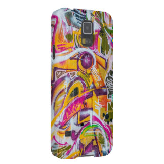 Wall graffiti art galaxy s5 cover