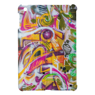 Wall graffiti art iPad mini case