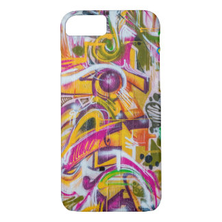 wall graffiti art iPhone 7 case