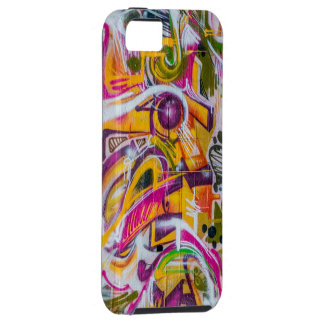 Wall graffiti art tough iPhone 5 case