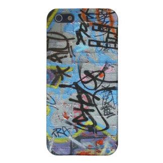 Wall Graffiti iPhone 5 Cases