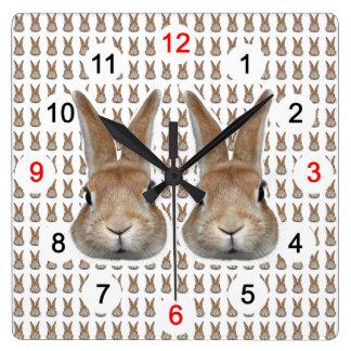Wall-mounted clock of rabbit, No.02