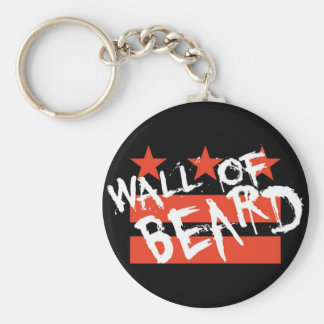 Wall of Beard Keychain