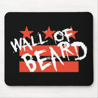 Wall of Beard Mousepad