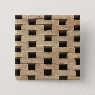 Wall of Bricks 15 Cm Square Badge