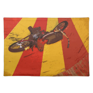 WALL OF DEATH BIKE PLACE MAT