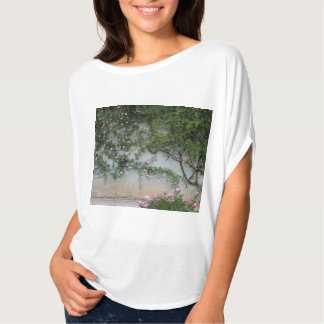 Wall of Pink Roses, Florence Italy T-Shirt
