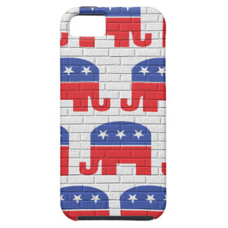 Wall of Republican Elephants iPhone 5 Cases