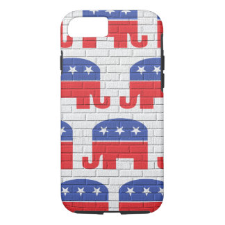 Wall of Republican Elephants iPhone 7 Case