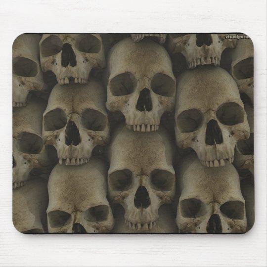 Wall Of Skulls Mouse Mat