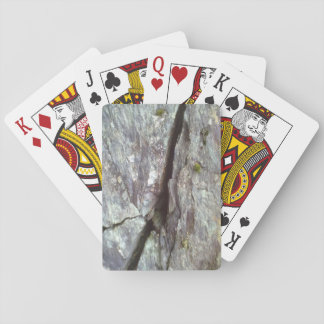 wall of stone playing cards