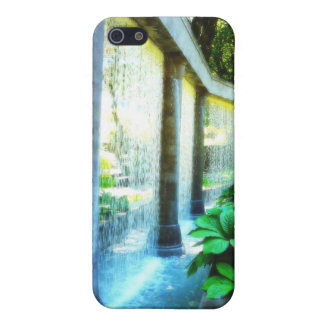 Wall of Water in Garden Paradise iPhone 5 Cover