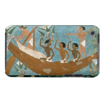 Wall painting from the tomb of Ipuy, Thebes, depic iPod Case-Mate Case