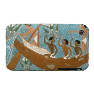 Wall painting from the tomb of Ipuy, Thebes, depic iPhone 3 Case-Mate Cases