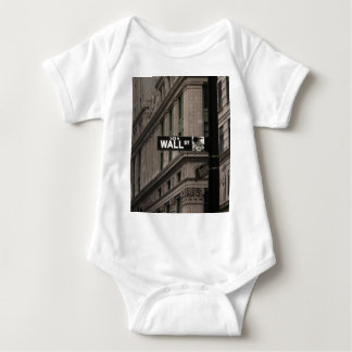 Wall St New York Baby Bodysuit