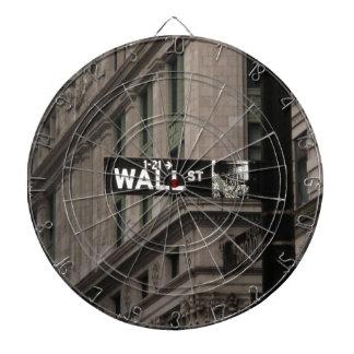Wall St New York Dartboard