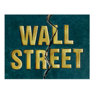 WALL ST POST CARD