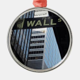Wall Street Christmas Ornament