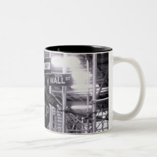 Wall Street coffee mug