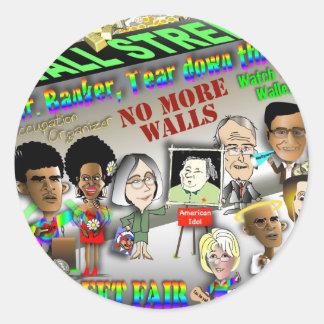 Wall Street Fair Sticker